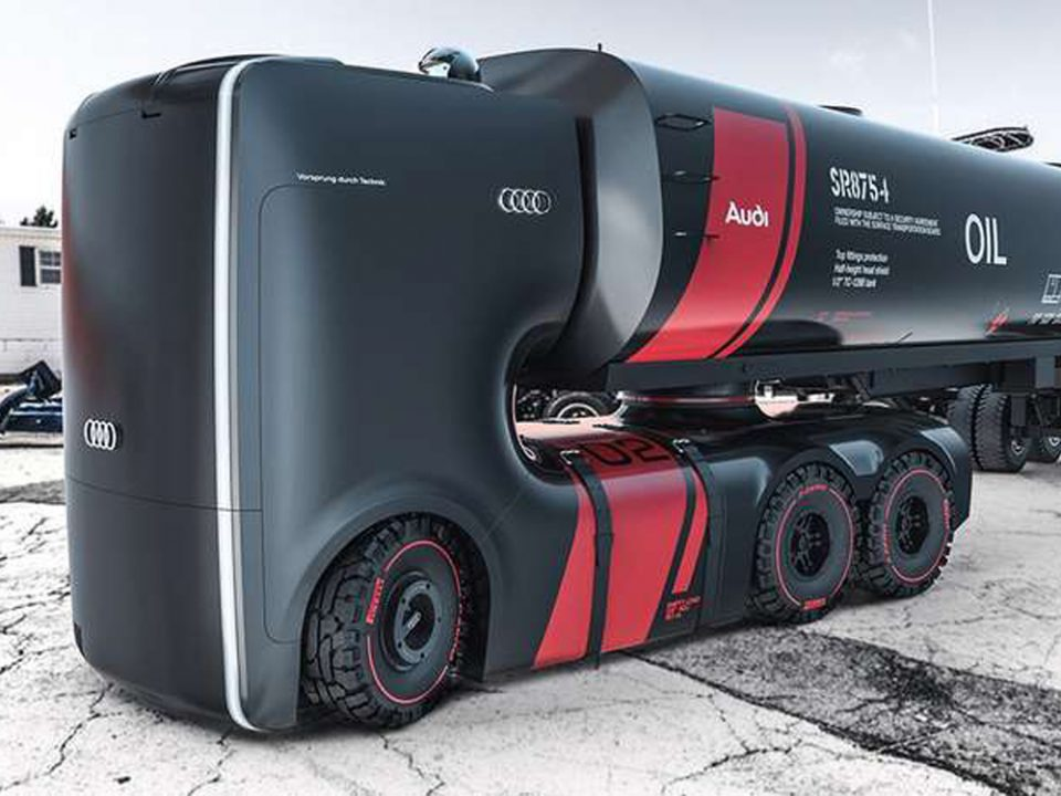 transporteurs camions du futur
